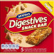 McVitie's digestives snack bar hazelnut & milk chocolate