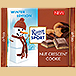 Ritter Sport nut crescent cookie